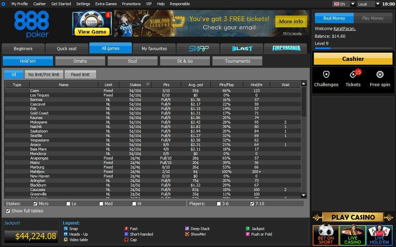 888покер игры